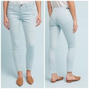 Anthropologie Pilcro Mid Rise Skinny Ankle Jeans